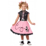 50s Poodle Cutie Toddler / Child Costume - 4-6