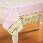 Pink Cowgirl Plastic Tablecover: Pink, Birthday