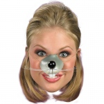 Mouse Nose: Gray, One Size, Everyday, Unisex, Child