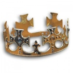 Rubie's Costumes Plastic Jeweled Crown One Size