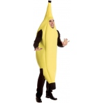 Banana Deluxe Adult Costume: Yellow, L/XL, Everyday, Unisex, Adult