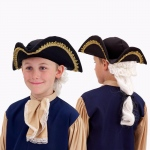Forum Novelties Colonial Hat with Wig Child One Size