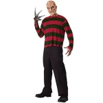 A Nightmare On Elm Street - Freddy Krueger Adult Costume Kit: Red, One Size, Everyday, Male, Adult