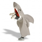Lil' Man Eating Shark  Child Costume: Gray, 7-10, Everyday, Male, Child