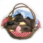Rubie's Costumes Basket with Wolf's Head One Size