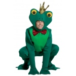 Frog Prince Adult Costume: Green, X-Large, Everyday, Male, Adult