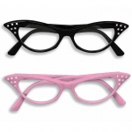 Catseye Glasses - Black