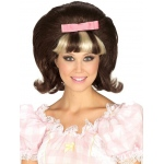 Forum Novelties 60's Princess Brown/Blonde Combo Wig One Size