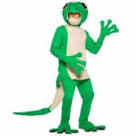 Gecko Adult Costume: Green, One-Size, Everyday, Male, Adult
