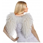 Fun World Adult (White) Feather Angel Wings