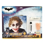 Rubie's Costumes Batman Dark Knight - Deluxe Joker Wig / Makeup Accessory Kit (Adult) One-Size