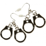 Rubie's Costumes Handcuff Earrings One Size