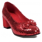 Judy Sequin (Red) Adult Shoes - 6