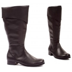 Bernard (Black) Adult Boots: Black, Medium, Everyday, Male, Adult