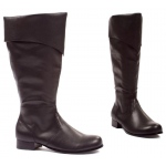 Bernard (Black) Adult Boots: Black, Large, Everyday, Male, Adult