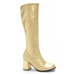 Gogo (Gold) Adult Boots - 8