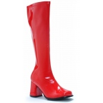 Gogo (Red) Adult Boots: Red, 9, Everyday, Female, Adult