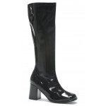 Gogo (Black) Adult Boots: Black, 6, Everyday, Female, Adult