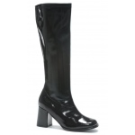 Gogo (Black) Adult Boots: Black, 7, Everyday, Female, Adult