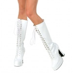 Easy (White) Adult Boots: White, 8, Everyday, Female, Adult