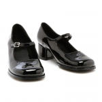 Eden (Black) Child Shoes: Black, Large, Everyday, Female, Child