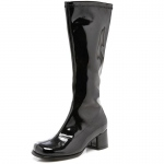 Dora (Black) Child Boots: Black, Large, Everyday, Female, Child
