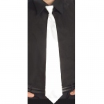 Forum Novelties White Long Tie One-Size
