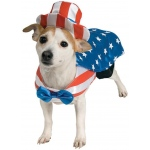 Rubie's Costumes Uncle Sam Dog Costume Small