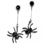 Rubie's Costumes Spider Earrings One-Size