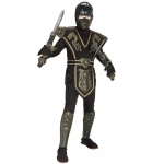 Ancient Dynasty Ninja: Black/Gold, Large, Everyday, Male, Child