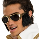 Rubie's Costumes Elvis Glasses with Sideburns One-Size