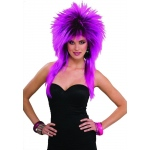 Forum Novelties 80's Purple Pizazz Adult Wig One Size
