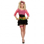 Forum Novelties 80s Groupie Adult Costume One Size