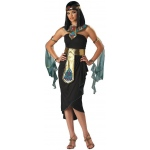 Cleopatra Adult Costume: Black, X-Large, Everyday, Female, Adult