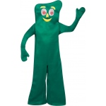 Gumby Adult Costume: Green, Standard, Everyday, Unisex, Adult