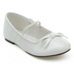 Ballet (White) Child Shoes: White, Large, Everyday, Female, Child