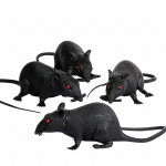 "Forum Novelties 6"" Plastic Rat (1 count)"