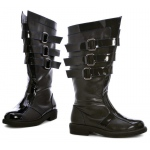 Dark Lord Adult Boots: Black, Large, Everyday, Male, Adult
