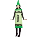 Crayola Green Crayon Adult Costume: Green, Large/X-Large, Everyday, Unisex, Adult