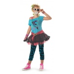 80's Valley Girl Child Costume - Medium (8-10)