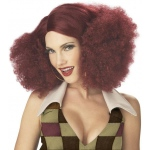 California Costumes Disco Sensation (Burgundy) Adult Wig One-Size