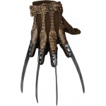 A Nightmare On Elm Street - Deluxe Freddy Glove Adult: Brown, One-Size, Everyday, Male, Adult