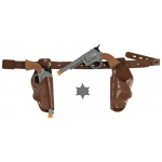Smiffy's Authentic Western Gunman Belt & Holster Kids One-Size