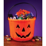 "Blinky Products 8"" Pumpkin Treat Bucket One Size"