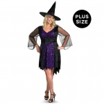 Brilliantly Bewitched Adult Plus Costume - Plus (18-20)