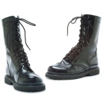 Combat Adult Boots: Black, Medium, Everyday, Male, Adult