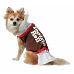 Tootsie Roll Dog Costume - X-Large
