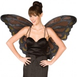 BuySeasons Monarch Butterfly Wings Adult One-Size
