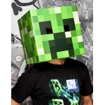 Jinx Minecraft Creeper Head Mask Adult One-Size