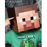 Jinx Minecraft Steve Head Mask Adult One-Size